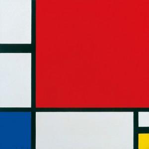 Piet Mondrian: Komposition in Rot, Blau und Gelb, 1930